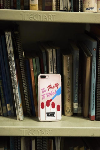 Too Pretty to Work iPhone Case