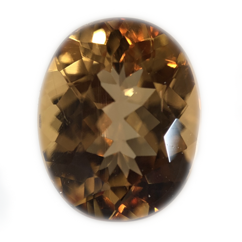 Imperial Topaz Gemstone Oval Cut By Ben Kho