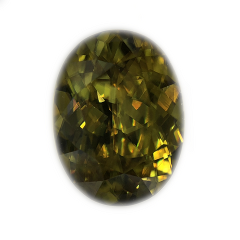 Sphene Gemstone Oval Cut By Ben Kho