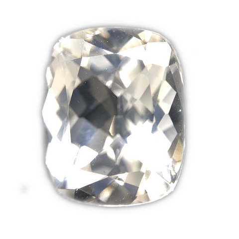 Danburite Gemstone Cushion Cut By Ben Kho