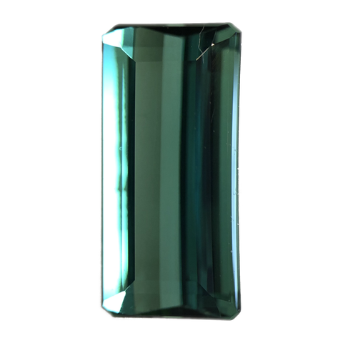 Tourmaline Gemstone Emerald Cut By Ben Kho