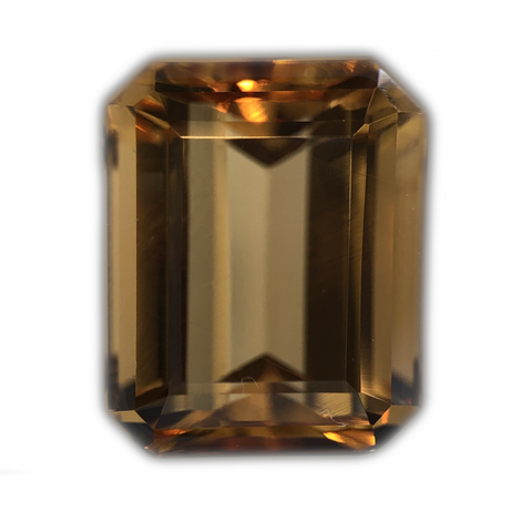 Imperial Topaz Gemstone Emerald Cut By Ben Kho