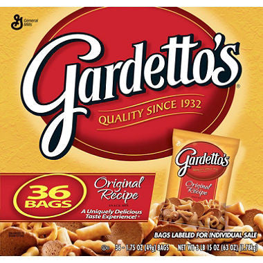 General Mills - Gardetto's® Original Recipe Snack Mix (36ct)