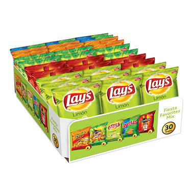 Frito Lay - Fiesta Favorites Variety Pack (30 ct)