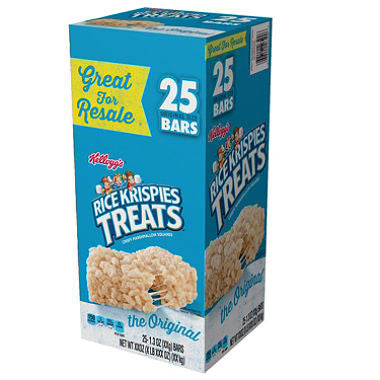 Kellogg's - Rice Krispies Treats, 1.3oz (25 ct)