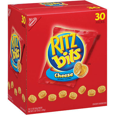 Nabisco - Ritz Bits Cheese Cracker Sandwiches, 1.5oz (30 ct)