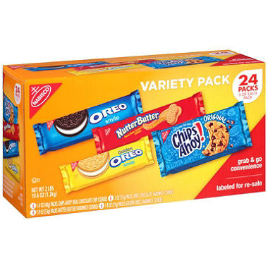 Nabisco Cookie Variety Pack (24ct)