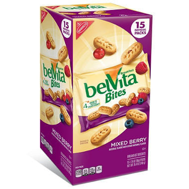 Nabisco - BelVita Bites Mixed Berry, 1.76oz (15 ct)