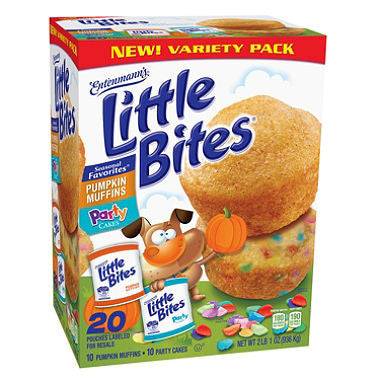 Entenmann's Little Bites - Party Cakes & Pumpkin Muffins (20 ct)