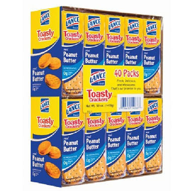 Lance - Toasty Peanut Butter Cracker Sandwiches (40 ct)