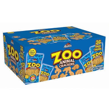 Austin - Zoo Animal Crackers, 2oz (36 ct)