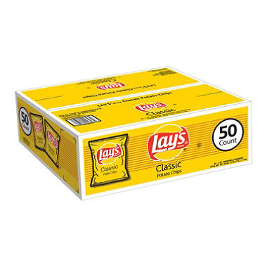 Frito Lay - Lay's Classic Potato Chips (50 ct)