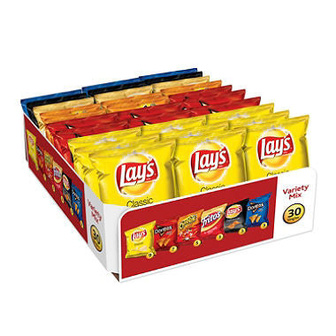 Frito Lay - Big Grab Variety Pack (30 ct)