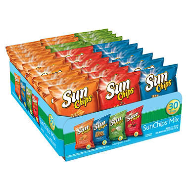 Frito Lay - Sun Chips Variety Box (30 ct)