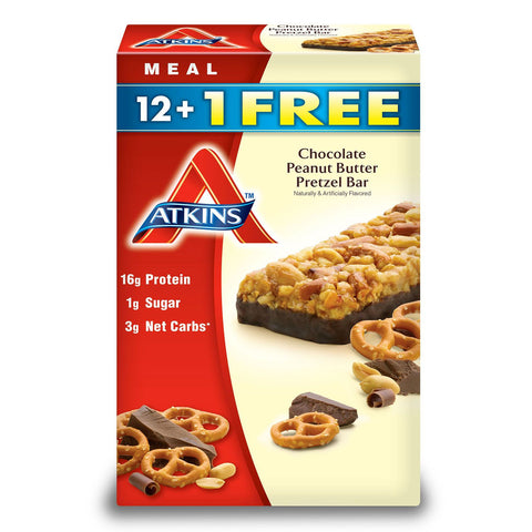Atkins Advantage PB Pretzel Bars (13ct)