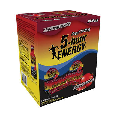5-Hour Energy Pomegranate, 1.93oz (24ct)