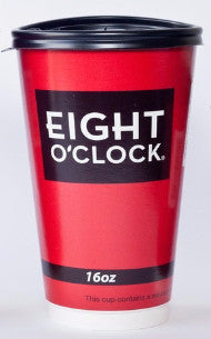 Eight O'Clock Coffee - Double Wall Insulated Paper Cups 540ct / 16oz