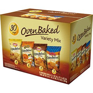 Frito-Lay - Oven Baked Chips Variety Mix (30 ct)