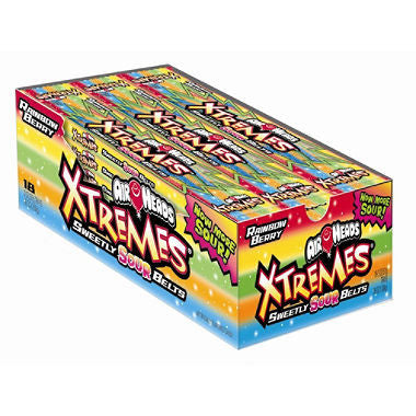 Airheads Xtremes Sour Belts (18 ct)