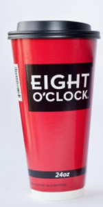 Eight O'Clock Coffee - Dome Lids for 12 & 16 oz Cups (1,000ct)