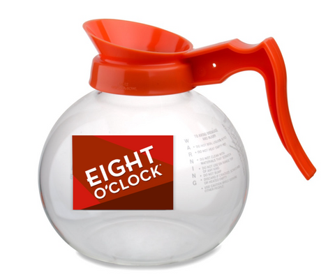 Eight O'Clock Coffee - 64oz Glass Coffee Pot (Decaf)