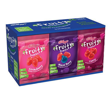 Kellogg Fruity Snacks Variety Pack (36ct)