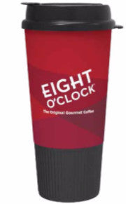 Eight O'Clock Coffee - Travel Mug 24ct / 20oz