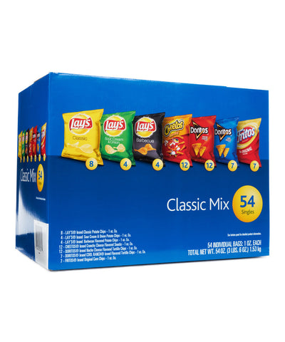 Frito-Lay - Classic Assorted Chips (54 ct)