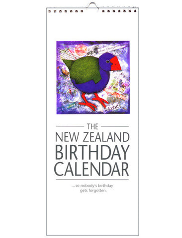 Bird Birthday Calendar