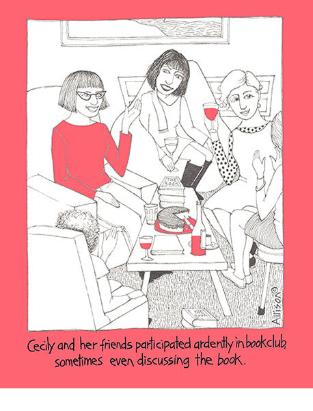 Book Club Cecily Card
