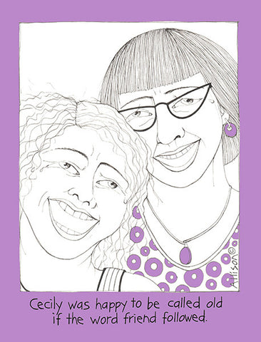 Old Friends Cecily Card