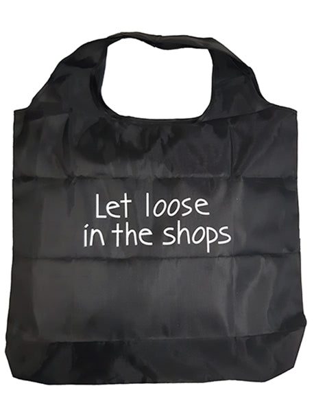 Shopping bag - foldable