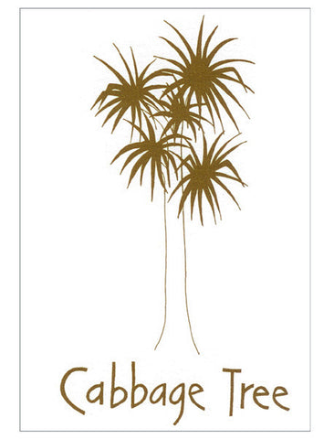Cabbage Tree Card