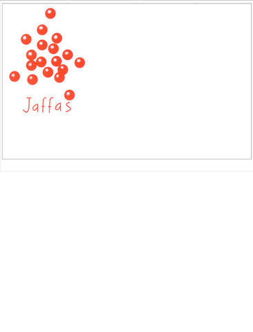 Jaffas giftcards (x10)