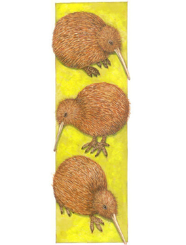 Kiwi 2 Collage Bookmark