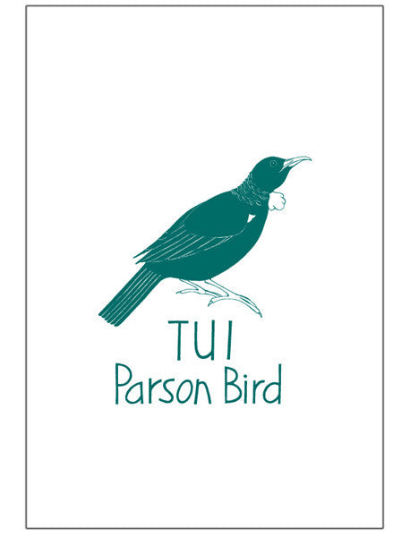 Tea Towel - Tūī