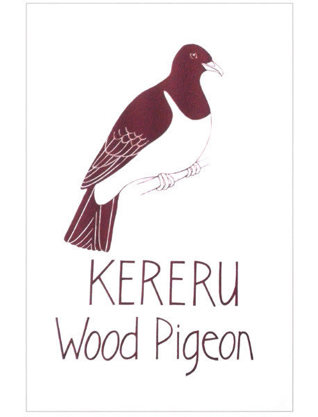 Tea Towel - NZ Pigeon or Kereru