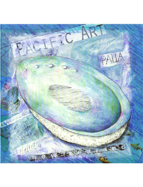 Paua Collage Card