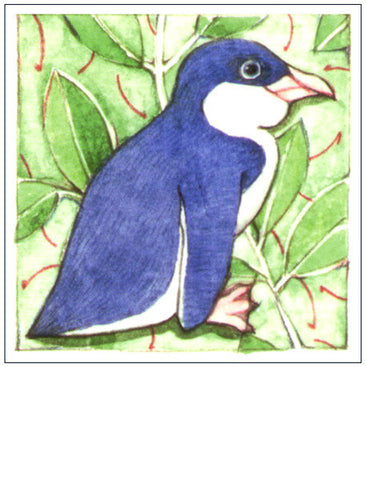 Penguin NZ bird gift card