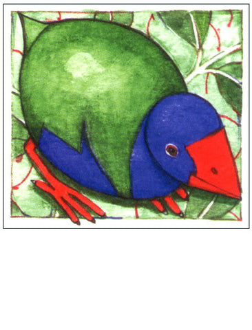 Pukeko NZ bird gift card