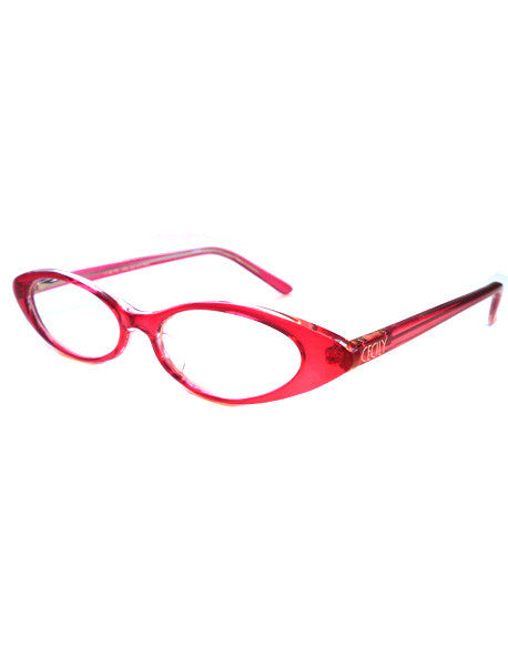Reading glasses in pink