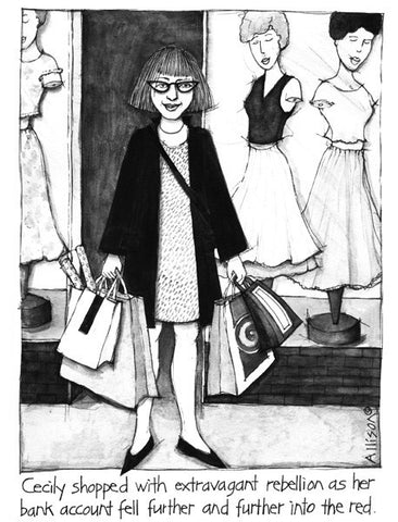 Shopping Cecily Card