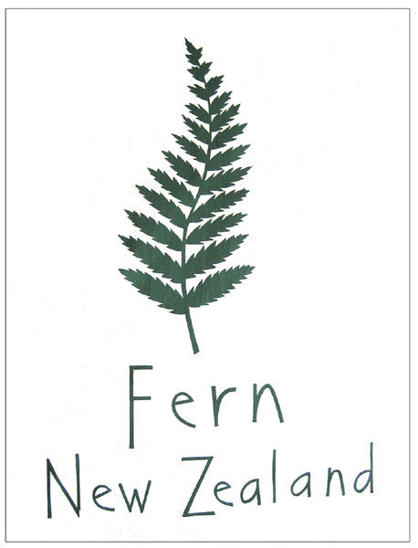 Tea Towel - Fern