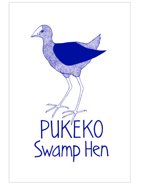 Tea Towel - Pukeko
