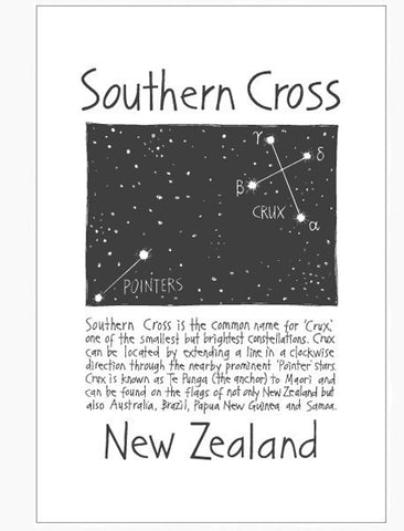 Tea Towel - Southern Cross