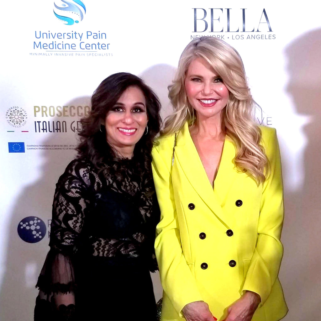 VIDEO: PM101 at Bella NYC Magazine Influencer Event with Christie Brinkley