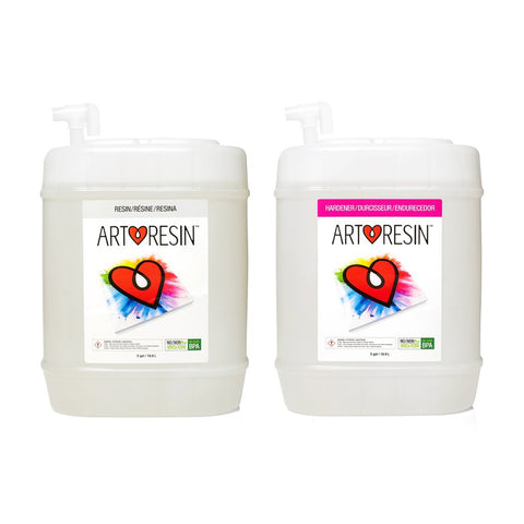 37.8 L (10 gal) ArtResin - Epoxy Resin