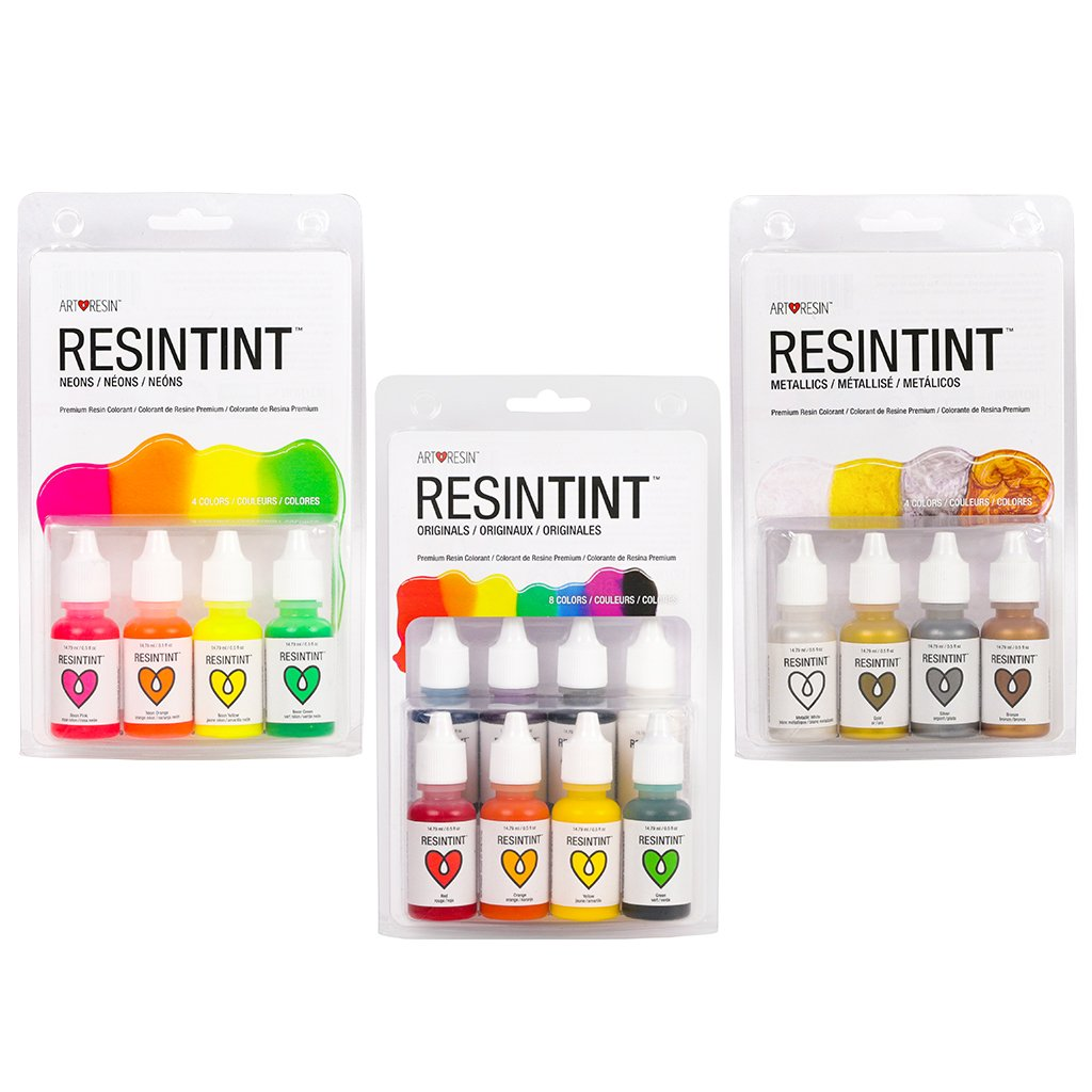 ResinTint Complete Set BUNDLE - 16 colours