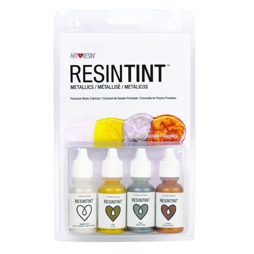 ResinTint Metallics  -  4 colours