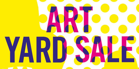 art yard sale